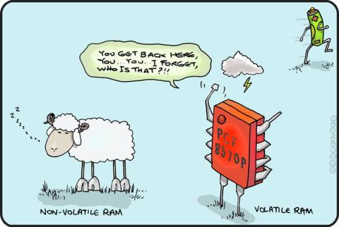 Cartoon electro ramblings electronics weekly