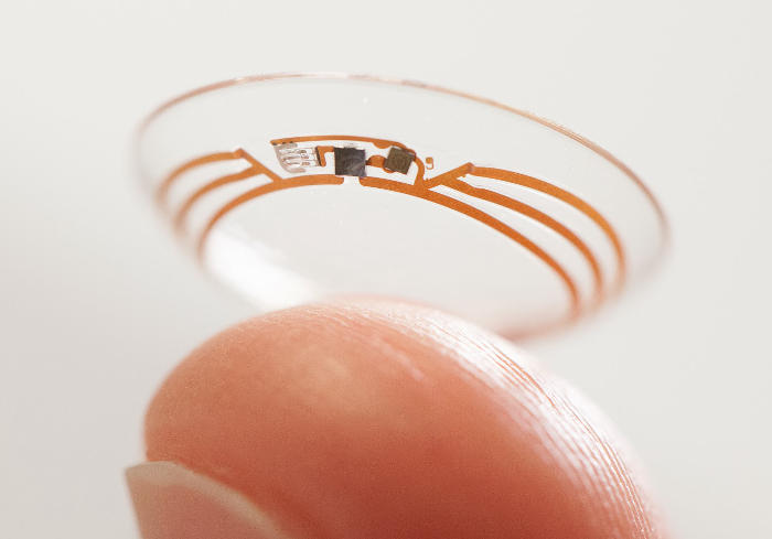Smart contact lens detects blood sugar levels