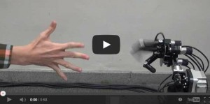Perfect rock-paper-scissors robot