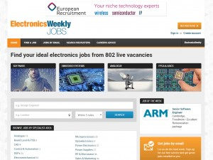 Explore the all-new, responsive Electronics Weekly Jobs site