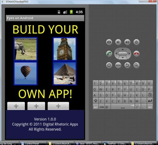 how to create our own android app