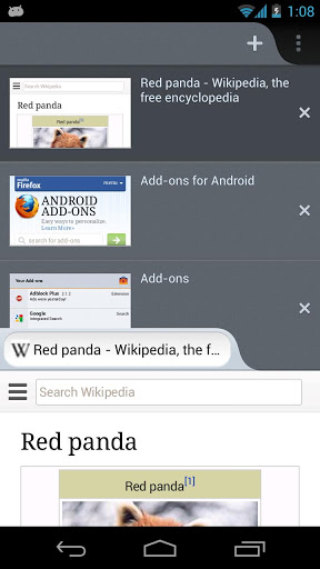 Android Applications in Focus #8 - Firefox 19 rolls out to Android