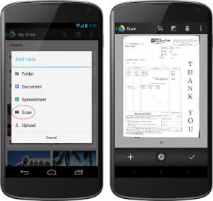 Google Drive update - OCR