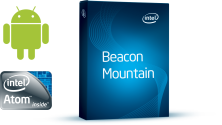 Intel Beacon Mountain supports Android development