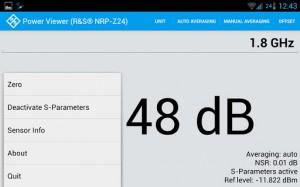 Rohde Schwarz - Mobile Power viewer - screenshot