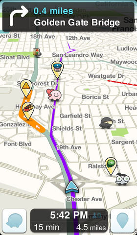 New Waze for Android?