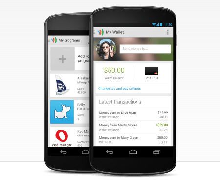 Google Wallet payment app bypasses NFC