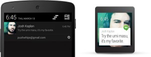 Android Wear - notification and phone