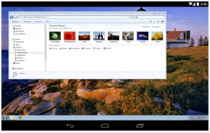 Chrome desktop remote Android app