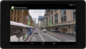 Google Maps Street View in Android apps