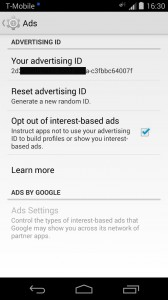 Android Advertising ID
