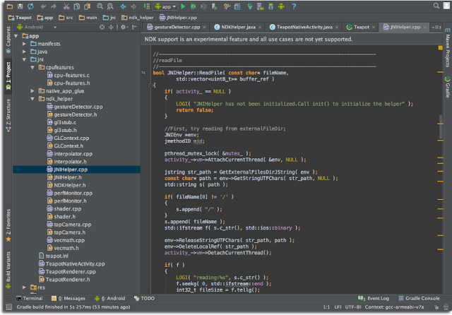 Editing and debugging support for C++