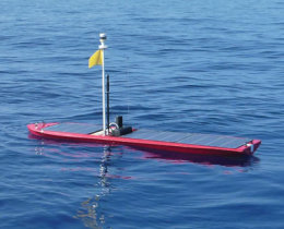 Welcome to Wave Glider, the hybrid ocean robot