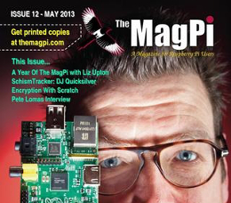 MagPi #12 hot off the press