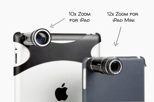 iPad gets telephoto lens