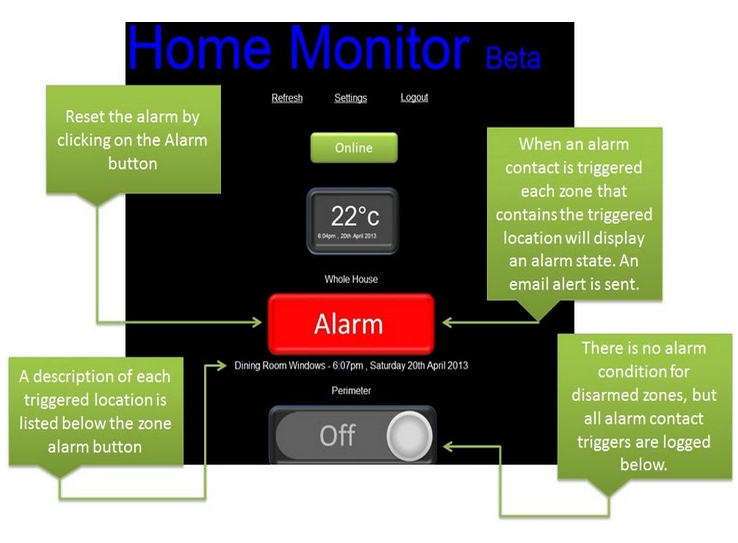 How To Build Your Own Raspberry Pi Home Alarm System 2013 07 as well Homemade Home Security besides Engineering Projects For Students In Electronics together with X5 Odb Ii Head Up Display Shows Vehicle Engine Speed Fuel Consumption And More On Your Windscreen additionally Accenta Alarm Problem. on diy alarm systems