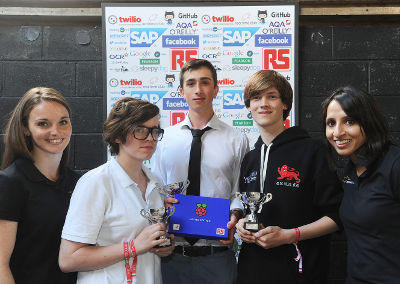 Festival Of Code Winners Scoop Limited Edition Raspberry Pi