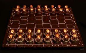 Nixie chess set