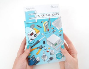 Coloring book - Lady Ada's E is for electronics