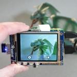 DIY WiFi Raspberry Pi Touchscreen Camera