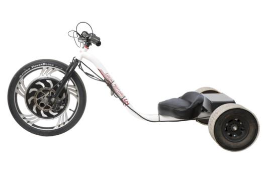 Electric-powered Verrado - trike drifting