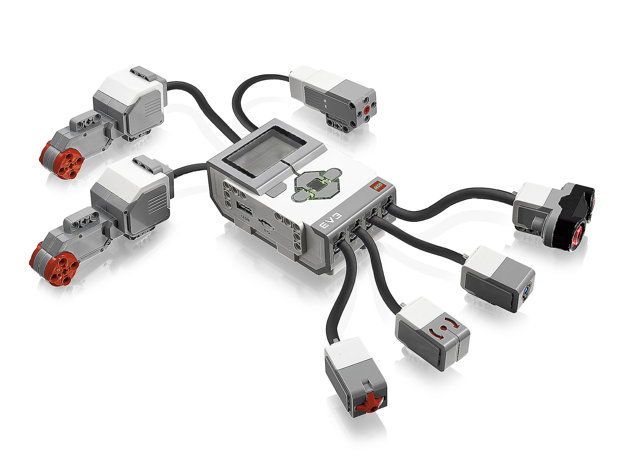 LabVIEW gets to grips with LEGO MINDSTORMS EV3 robots