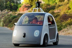 Google Car - self-drive prototype