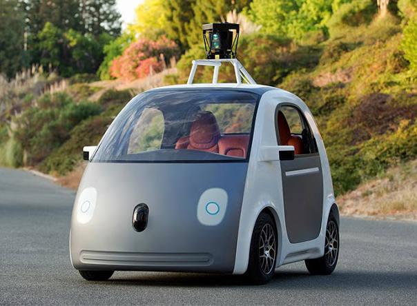 Google Car - self-drive prototype