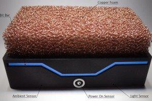 Silent Power - copper foam cools PC
