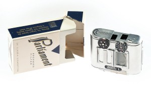 CIA Museum - Tessina camera concealed in cigarette pack