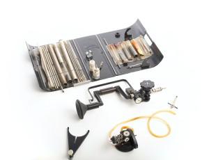 CIA Museum - hand-crank audio drill
