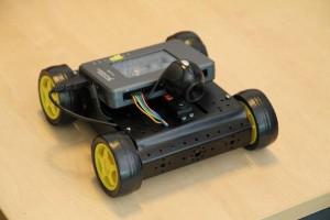 NI - Autonomous 4-wheeled Colour Detecting Rover Robot