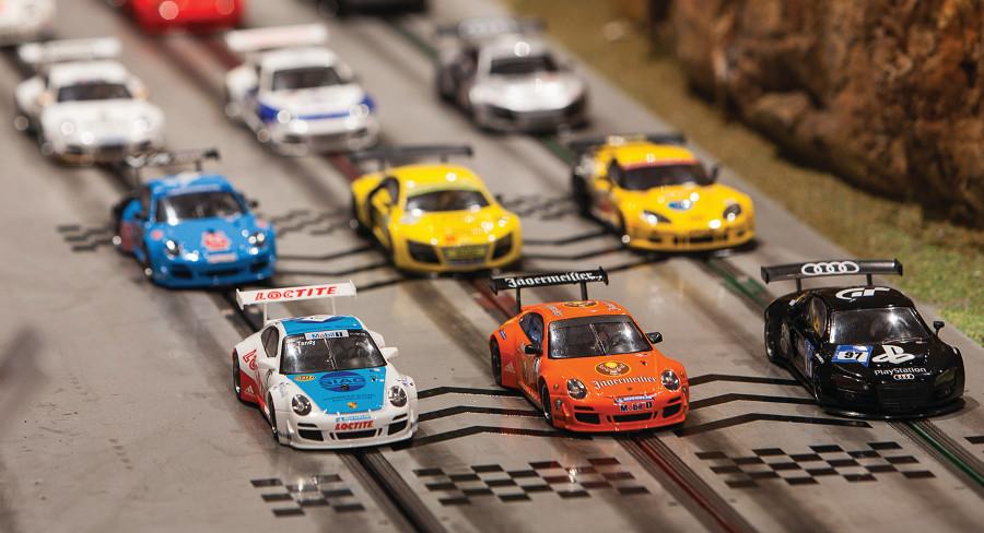Scale Slot Car Racing