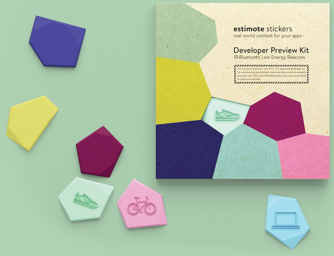 Make your own Bluetooth Smart beacons with Estimote Stickers