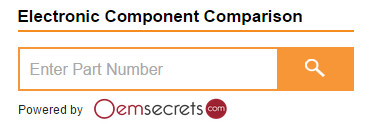 OEMSecrets parts search - search box
