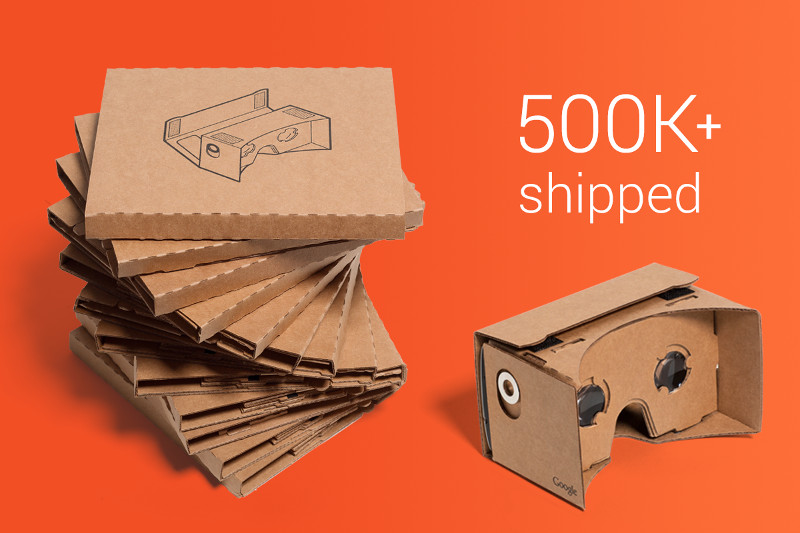 Google makes new folds in Cardboard virtual reality