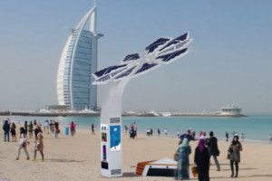 Smart Palm, on the beach near to the Burj Al Arab