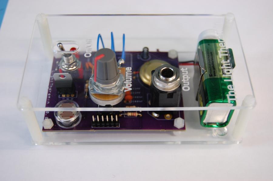 arduino theramin 2
