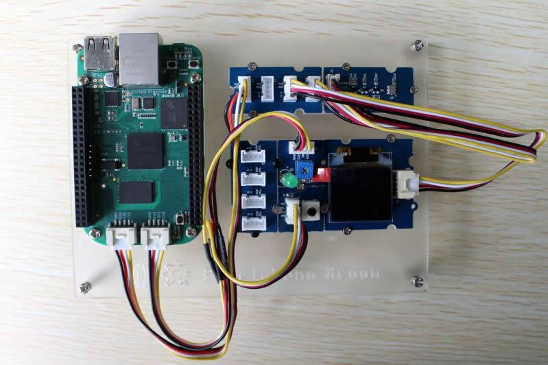 DevBoard Watch: BeagleBone Green showcases Grove sensors