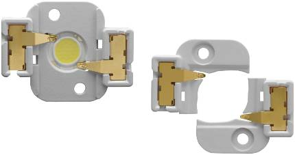L+B: Molex eases LED connection for lighting - these are for a Citizen LED arrays