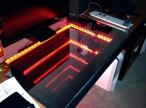 Impossible Object #38 - Infinity LED desk
