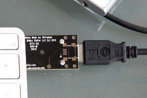 USB condom detail