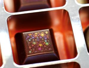 I can't believe someone makes... Holographic chocolate