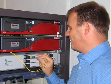 Physical layer test of 10Gbit Ethernet