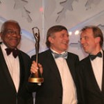 Sir Robin Saxby - Elektra Award winner 2007