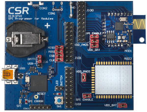 CSR Starter Dev Kit Target Board with CSR1010 Module
