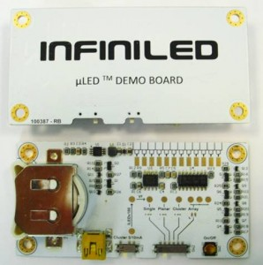 InfiniLED demo board