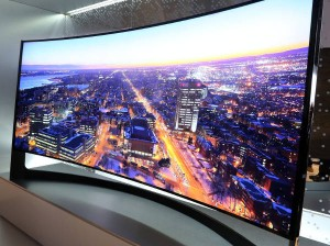 Samsung's 105in curved TV