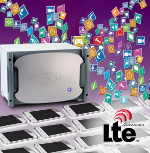 Aeroflex LTE test - MWC: Tester for LTE-LAA in unlicensed frequency bands