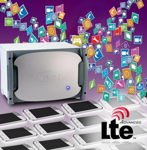 Aeroflex LTE test